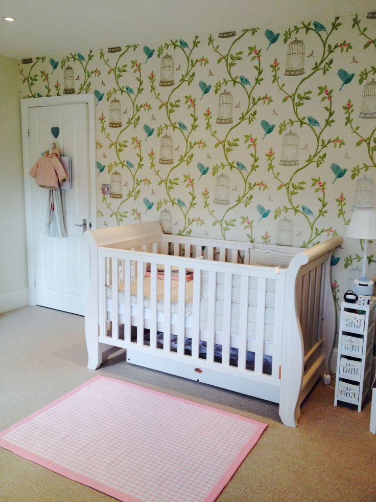 31 best papier peint oiseaux images on pinterest paint. Black Bedroom Furniture Sets. Home Design Ideas