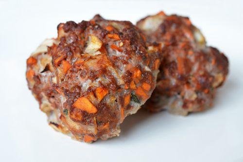 Meatloaf Minis: Meatloaf Recipe, Meatloaf Bites, Meatloaf Balls, Potato Meatballs, Paleo Meatballs, Favorite Recipes, Paleo Recipes, Paleo Meatloaf