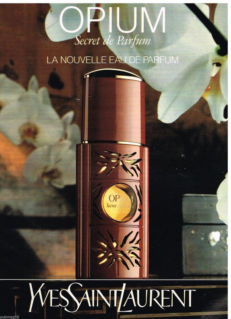 Publicité Advertising 1992 Parfum Opium par Yves Saint Laurent