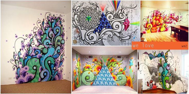 grafite na decoração de interiores - Pesquisa Google