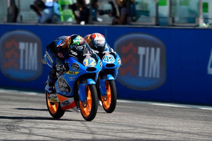 Alex Marquez, Rins, San Marino Moto3 Race 2014