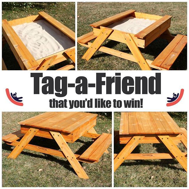 Tag-a-friend you'd like to win a new kids wooden sand picnic table! 😀😍 A genuine blackfriday offer from http:s//www.selwood.com! One winner will be picked at random on Monday 27th November. Good luck!  #win #competition #giveaway #free #sandpit #selwood #kidsplay #picnictable #contest #selwoodcontest #contests #contestalert #contestentry #sweepstakes #selwoodsweepstakes #selwoodgiveaway #giveaways #selwoodwin