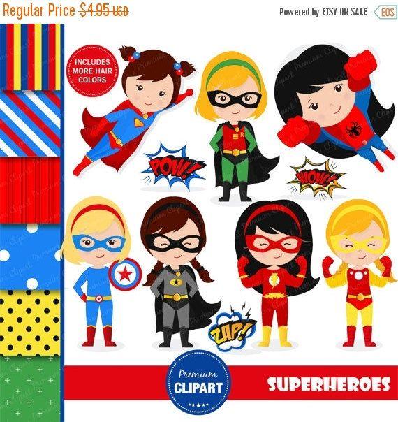80% uit verkoop superheld clipart, supergirl clipart, superheld meisje clipart, flash clipart, superheld kostuum, superhelden - CL128