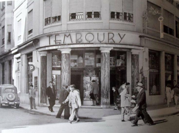 Temboury, esquina con calle Larios ANCIENT MALAGA-SPAIN