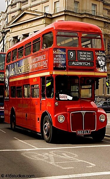 Old Routemaster Bus, top gear supercars fast cars