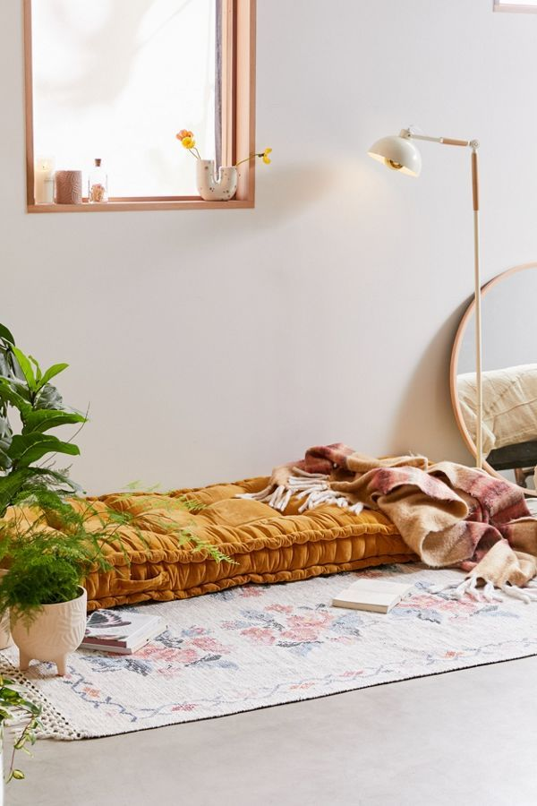 Maybe Make A Bench Underneath The Window In My Meditation Room So I Can Do Sound Baths Easily Daybed Cushion Daybed Reema Floor Cushion