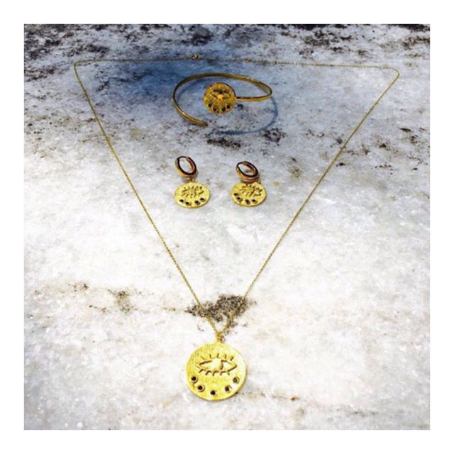The Kressida collection available at herminawristwear.com #evileye