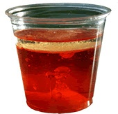 Lava cup. For a lesson on landforms. Also has tons of other science and math activities.