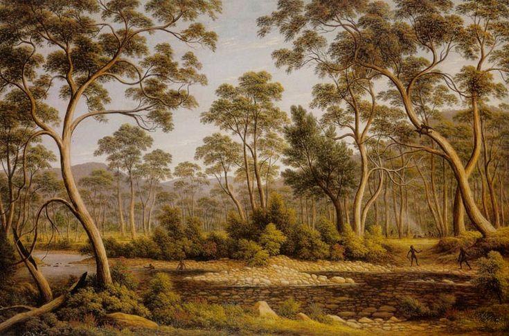 The River Nile, Van Diemens Land, from Mr. Glovers Farm by John Glover