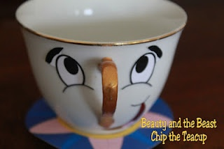 Paint your own tea cup