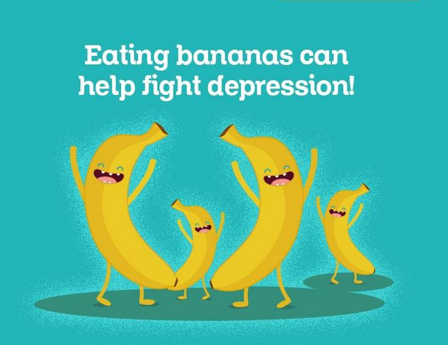 #foodpanda Eating bananas can help to fight with Depression. Agree ?