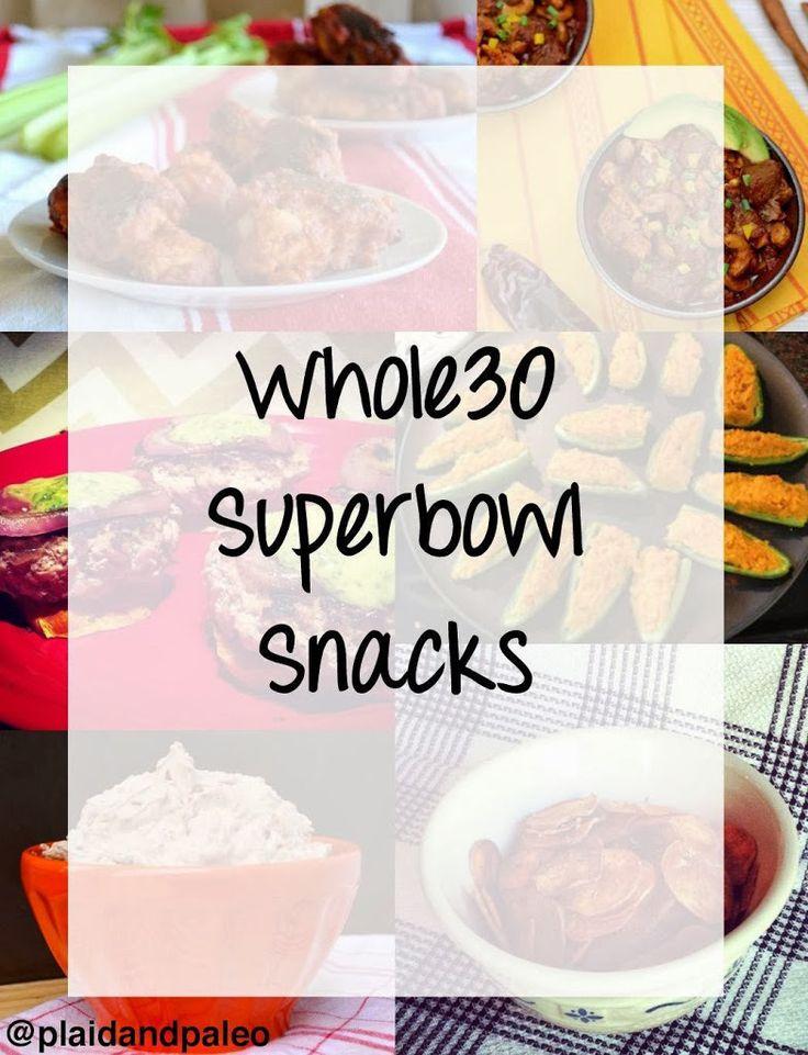 20+ Whole30 Superbowl Snacks #whole30 #paleo