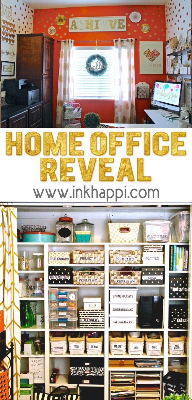 craft room office reveal bydawnnicolecom. Home Office RevealYou\u0027re Invited To Take A Tour Craft Room Reveal Bydawnnicolecom