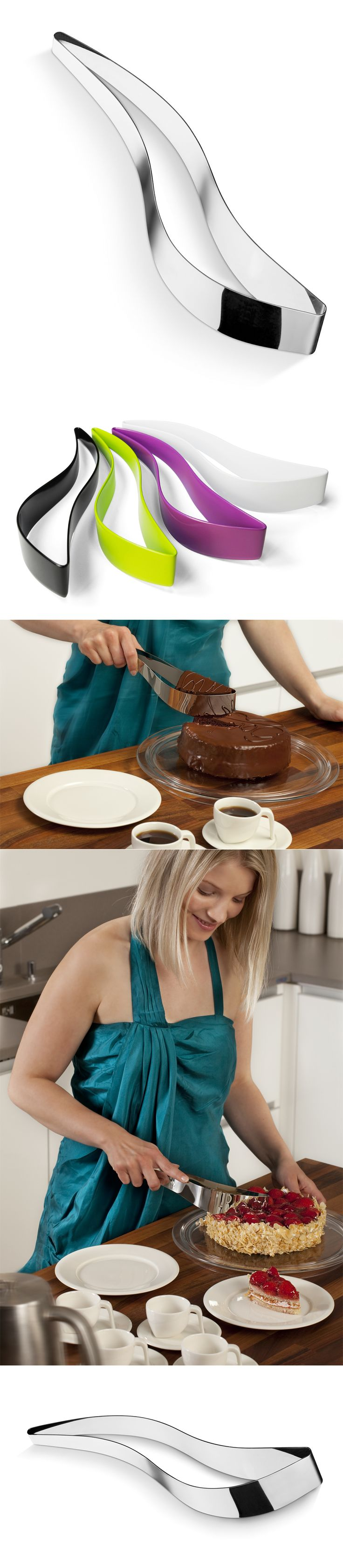 This is one of the best inventions i could ever want!! Magisso cake server