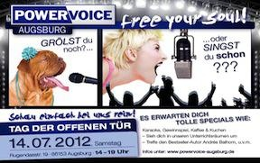 Tag der offenen Tür bei Anita und Klaus. 14.07. 2012  #Musik #Unterricht #singen #Konzert
