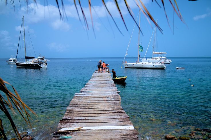 Caribbean Adventure. Sail around the Islands of Martinique and Dominica,...