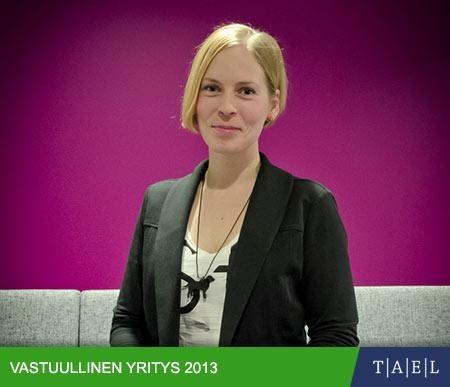 Viisaampaa liikkumista, Taloussanomat/Tael: Vastuullinen yritys 2013