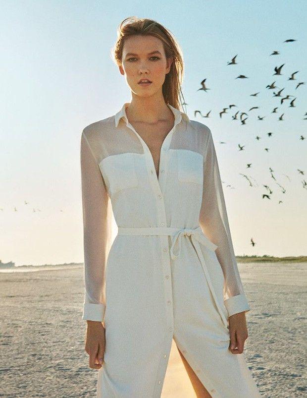 Карли Клосс в рекламе Marella (Интернет-журнал ETODAY)