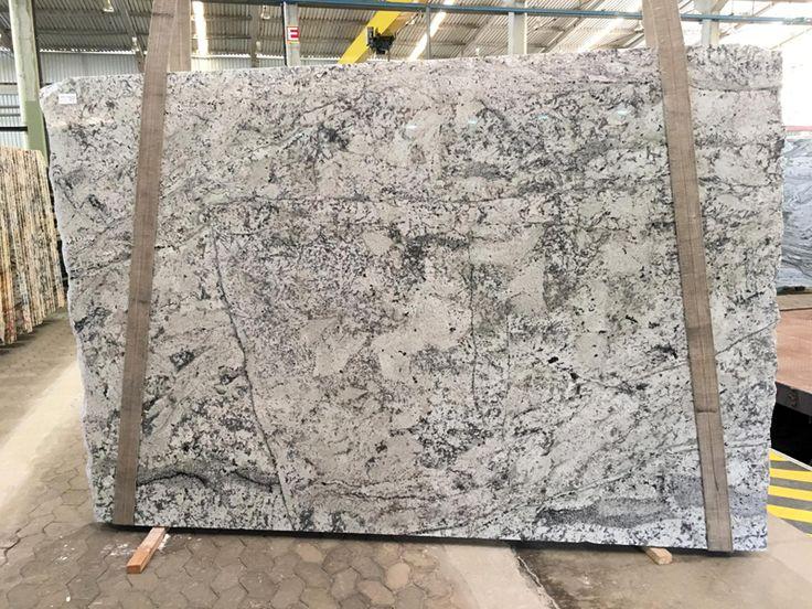 Kitchen Countertops Out Of White Ibis Granite