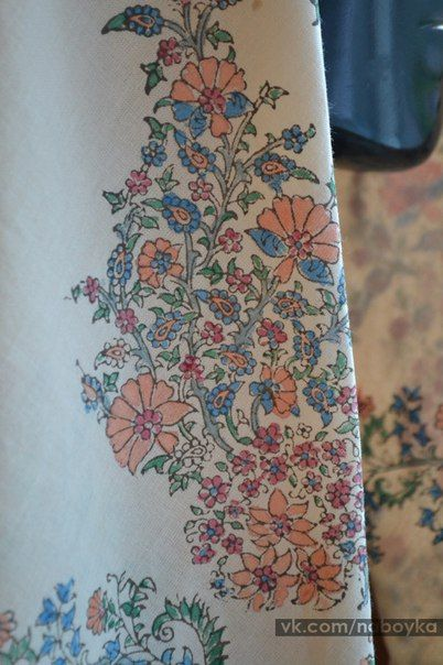Штампы ※ Набойка ※ Натуральное крашение ткани
