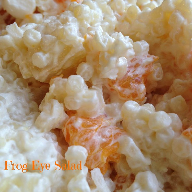 Turnips 2 Tangerines: Frog Eye Salad #SundaySupper