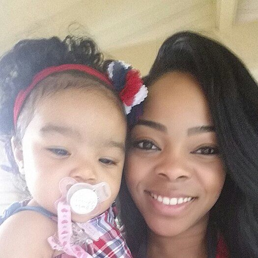 I know I'm late but ummm I had no idea that  today was national daughters day! Sooo here's a selfie of me and my little #babydoll! My Lil #chunkmonster #AllureMarie @alluremarie_lurie  mommy loves you sooooo much! You are everything that  I prayed for! My little #star I LOVE YOU by theglamfairy10
