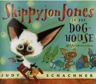 Skippyjon Jones in the Doghouse by Judy Schachner. $6.99. http://www.letrasdecanciones365.com/detailp/dpwty/0w1t4y2v4o0d7j4w9u6c.html. Author: Judy