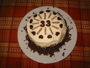 Birthday Cake 33 Year Old Yummy Cake Pinterest