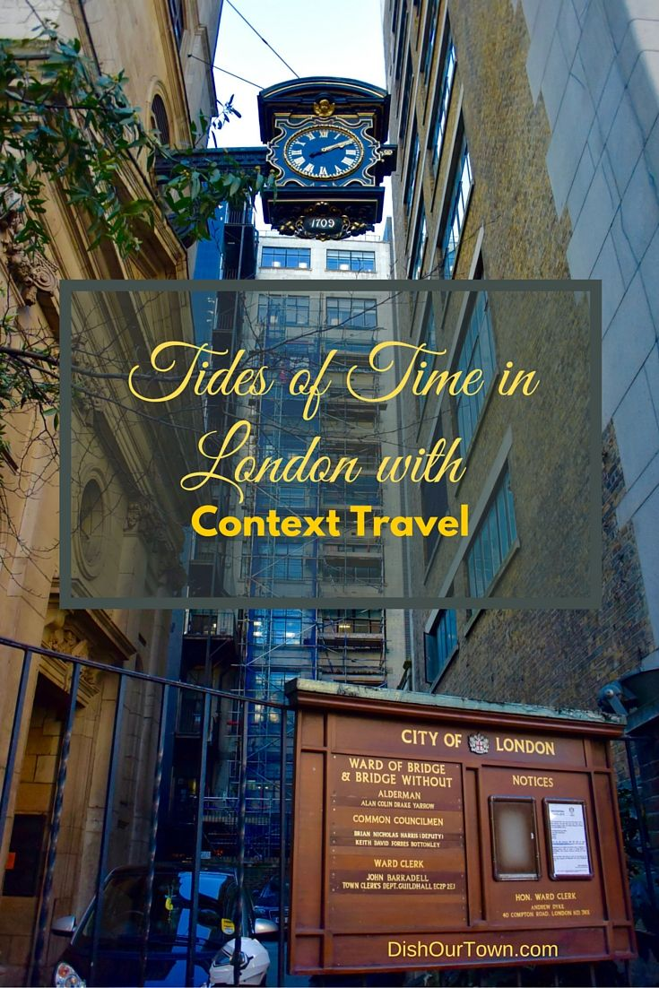 Tides of Time Tour with Context Travel as a family traveling in London via @DishOurTown - Simply the Best Small Group Tour in London for the luxury traveler.