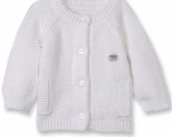 Keep Baby cosy on #AutumnDays with this Absorba Ecru Cardigan. Available at Wauwaa http://bit.ly/1uKplMs @wauwaauk