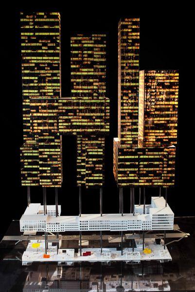 90 #architecture #maquette #rotterdam #modelmaking #MBM #ZUS