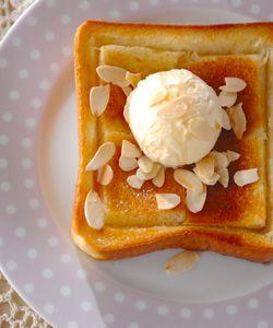 ハニートーストのレシピ・作り方 - 簡単プロの料理レシピ | E・レシピ