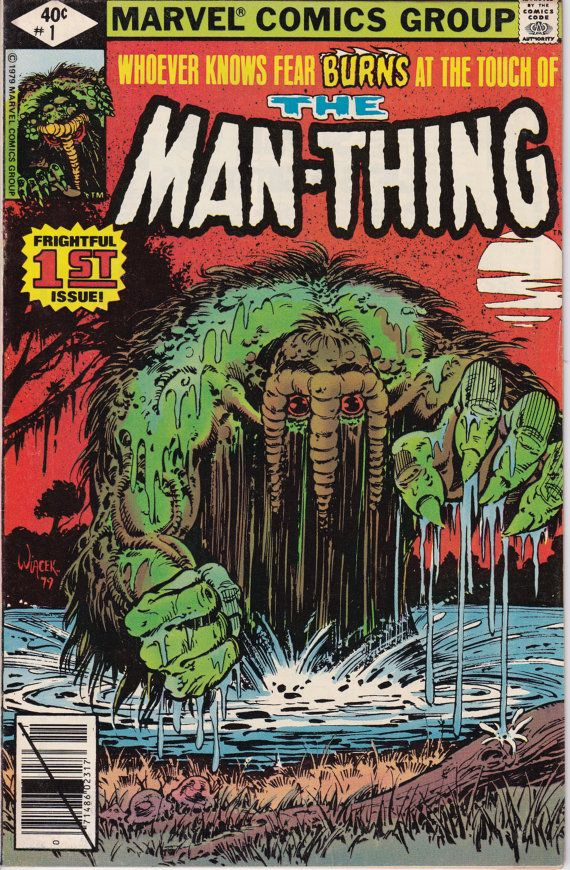 Man-Thing 1 November 1979 Issue  Marvel Comics  by ViewObscura