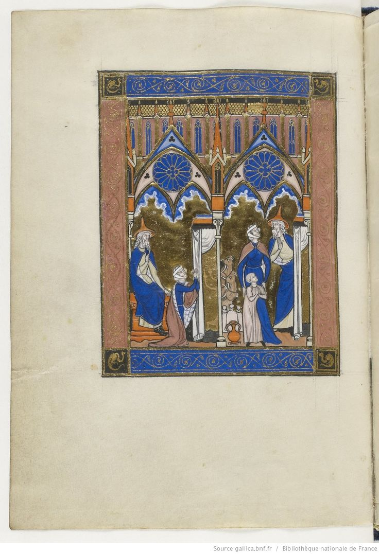 Titre : Psautier dit de saint Louis. Date d'édition : 1270-1274 Type : manuscrit Langue :	Latin Source : Bibliothèque nationale de France, Département des Manuscrits, Latin 10525 67v