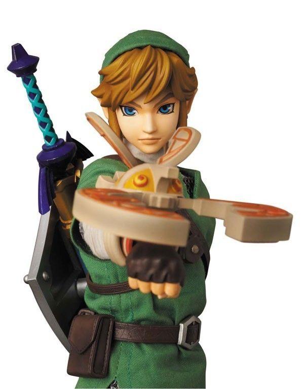 Medicom Toy Real Action Hero The Legend of Zelda Skyward Sword Link Action Figure featured on Jzool.com