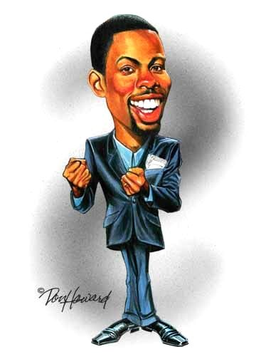 Chris Rock Caricature Don Howard began his career at Disney Studios in Burbank the United States. He worked on very famous projects like Robin Hood and Winnie the Poo
