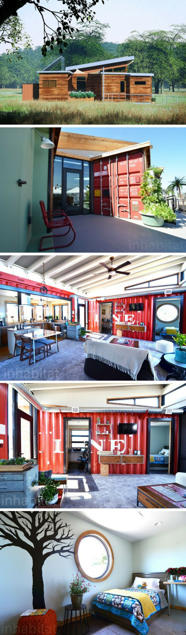 THE NEST SHIPPING CONTAINER HOME #ShippingContainerHomes