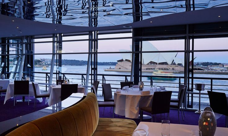 Quay restaurant, where the food is almost certainly better than the view... a difficult feat considering the Sydney Opera is your backdrop.