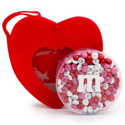 valentines day real estate themed mms in an acrylic case with