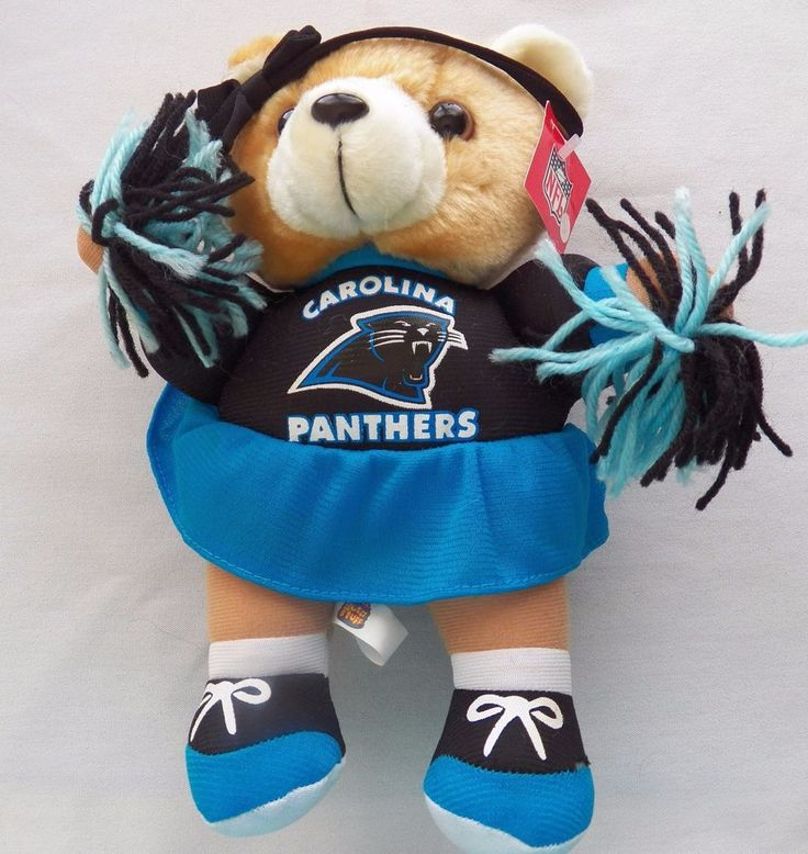 NFL Carolina Panthers Cheerleader Bear 2000 (72916-386) stuffed animals…