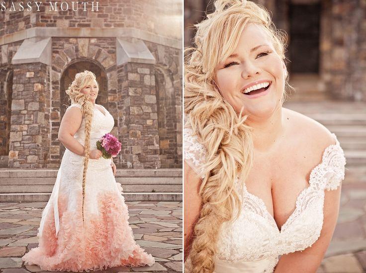 Plus Size Wedding Dress Www.realsizebride.com, Photos By Www.sassymouth.
