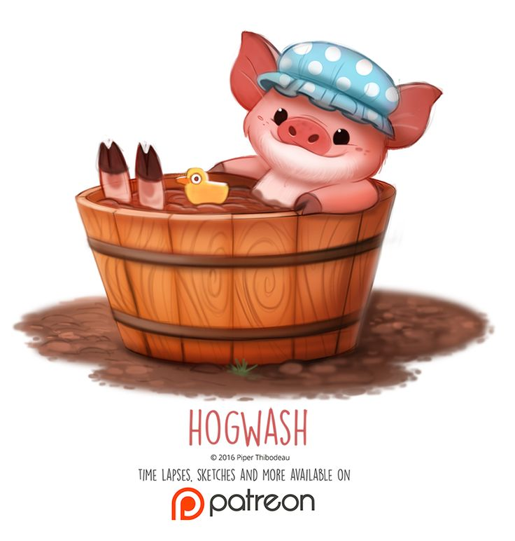 Day 1409. Hogwash by Cryptid-Creations on DeviantArt