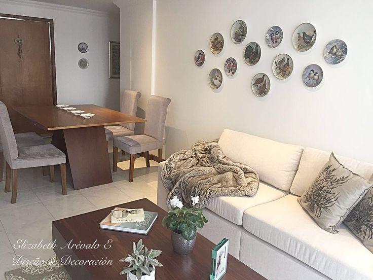 Living Room , sala, interior Design , clásico moderno, beige Design by Elizabeth Arévalo E. Diseño & Decoración.