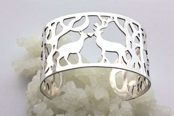 Wildwoods Cuff by Theaceofswords on Etsy
