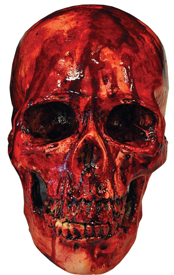 bloody resin skull halloween skeletonshalloween prophalloween horrorhalloween decorationshalloween