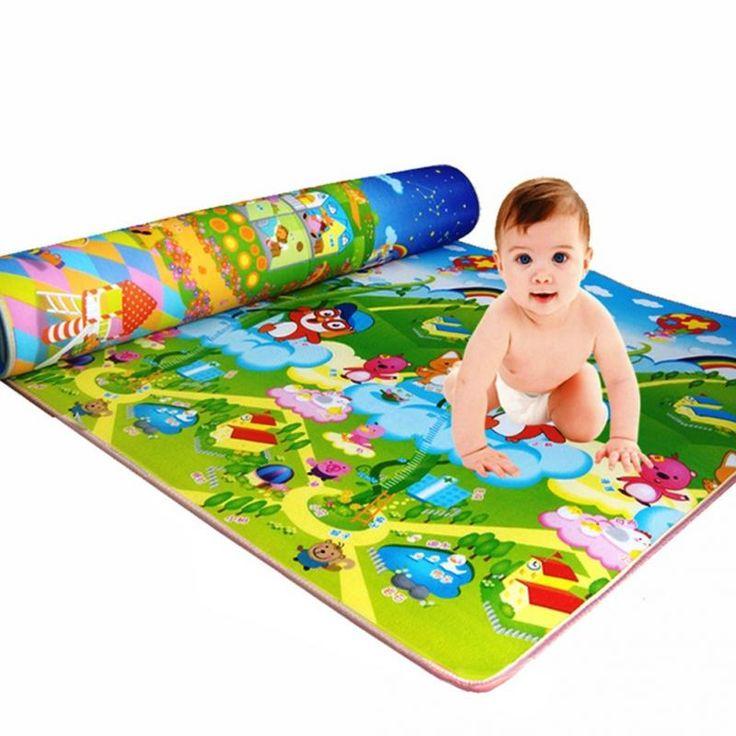 Bambino Stuoia Del Gioco Del Bambino di Gioco Strisciando Tappeto Coperta Tappeto Kids Toy Regalo Di Compleanno Bambino Presente