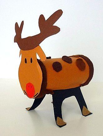klorollen elch weihnachten weihnachtsbasteleien. Black Bedroom Furniture Sets. Home Design Ideas