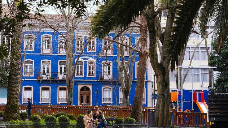 Le Jardim Da Parada situé dans le quartier Campo de Ourique de Lisbonne.