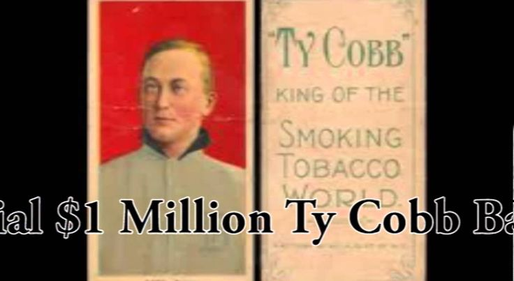 Controversial 1 million ty cobb baseball card found in