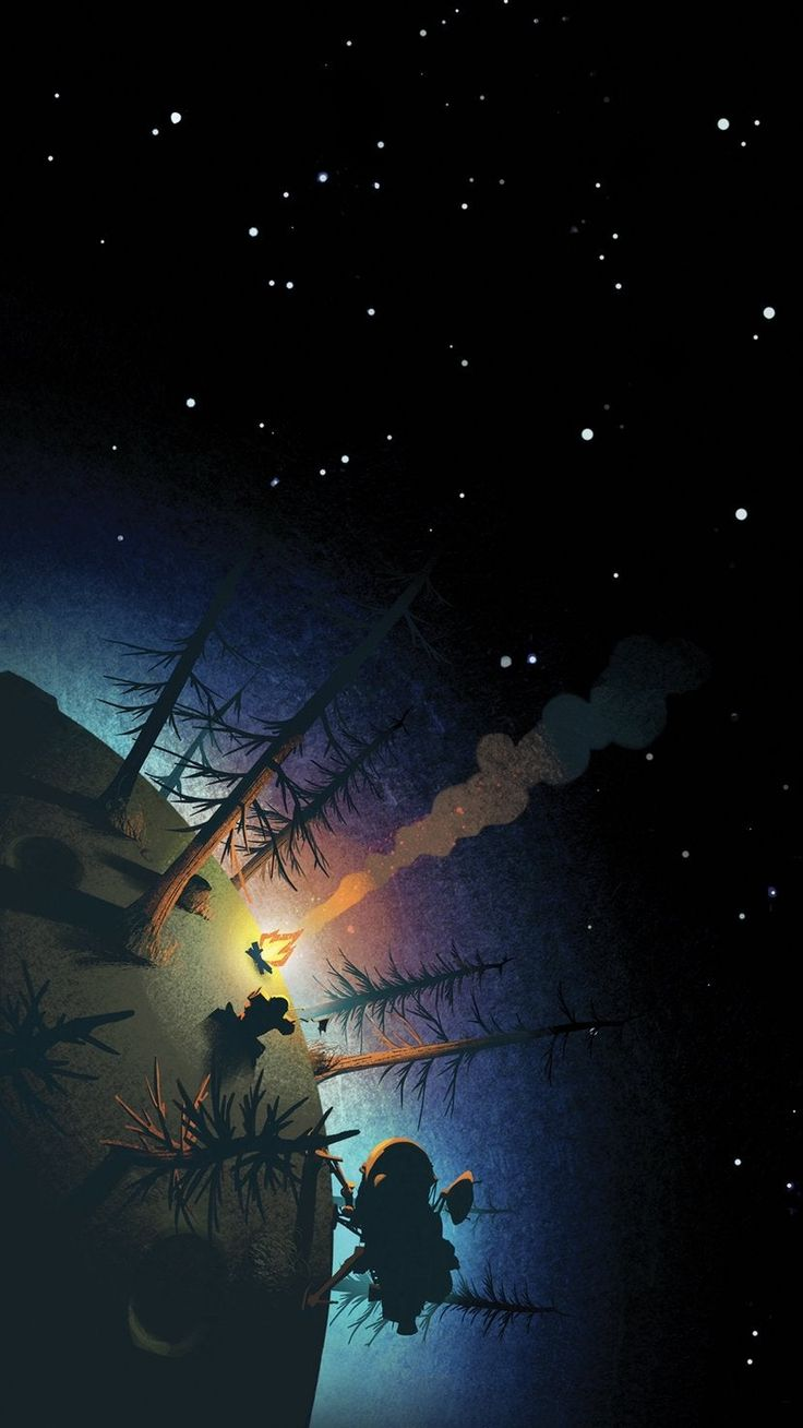 Space camping with Outer Wilds | Smart Phone Wallpapers  #4kphonewallpapersreddi…